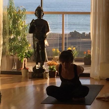 Sofia Ageyeva teaches Ashtanga closing sequence