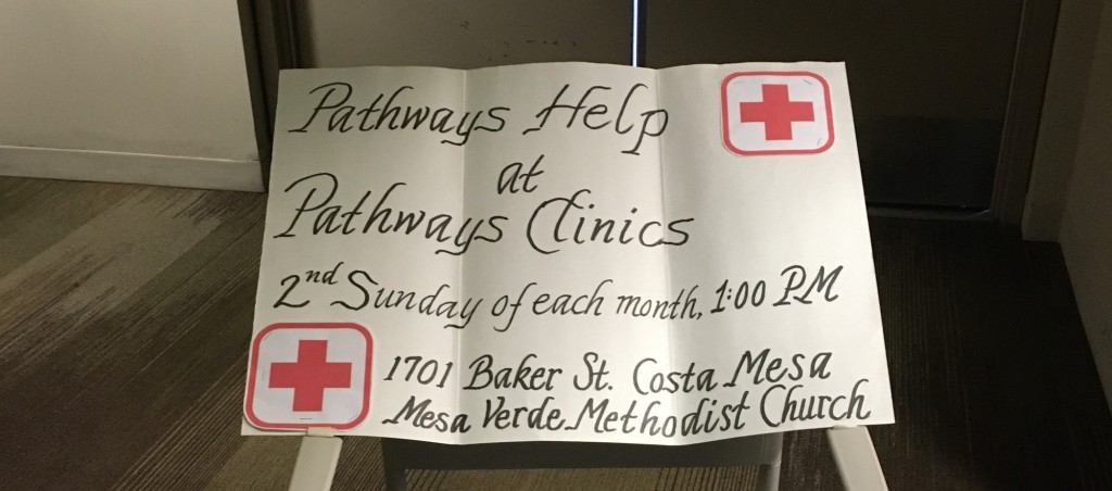 Pathways Clinic sign